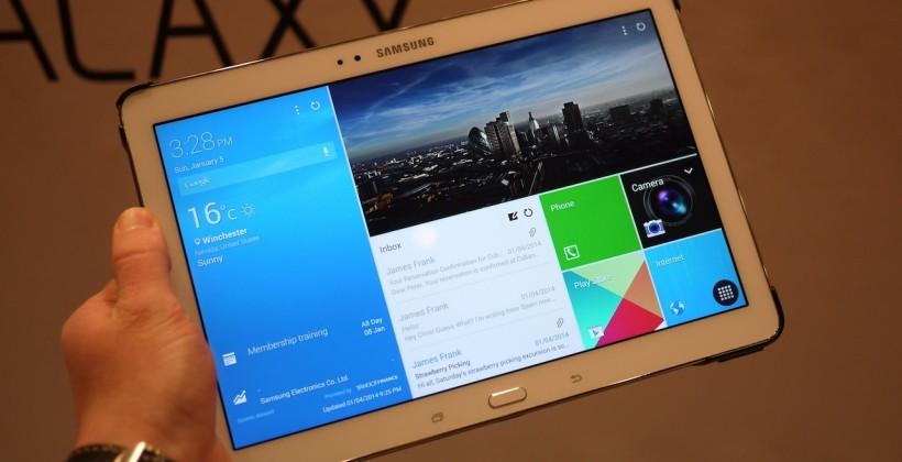 Samsung Galaxy NotePRO hands-on: 12.2″ of S Pen prosumer slate