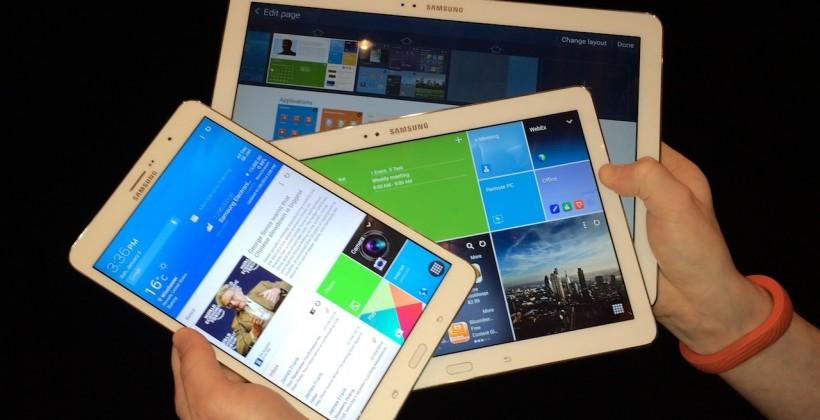 Samsung Galaxy TabPRO 8.4, 10.1 and 12.2 hands-on