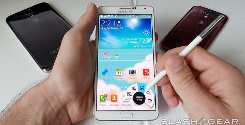 Samsung sees slight Q4 2013 slide as smartphone sales stumble