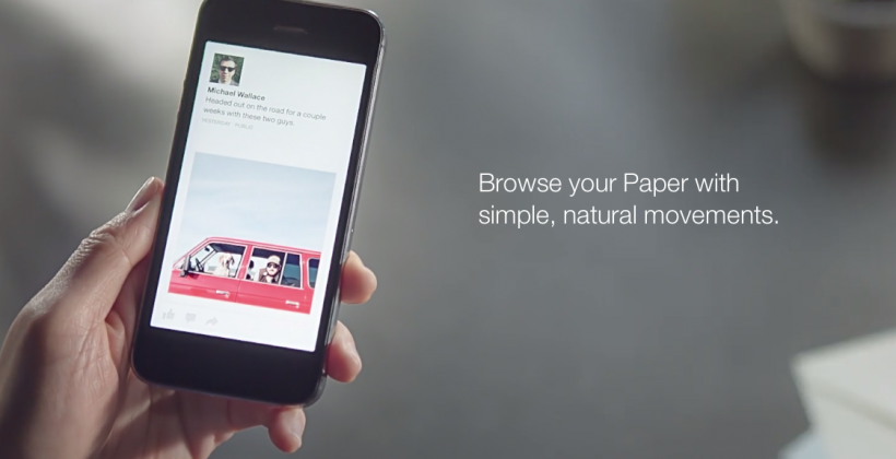 "Facebook Paper app: dousing the ""mobilize it"" farce"