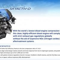 Mazda Skyactiv-D clean diesel engine launch delayed in North America