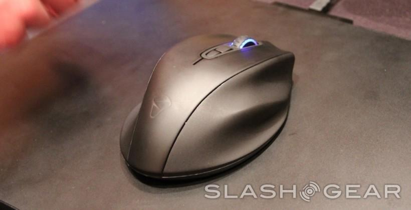 Mionix inductively charged mouse prototype hands-on: always wireless