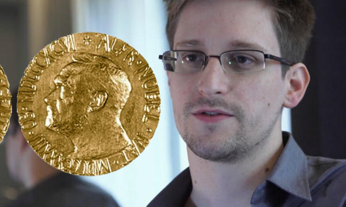 "Snowden Nobel Peace Prize nomination up for ""stable and peaceful world order"""