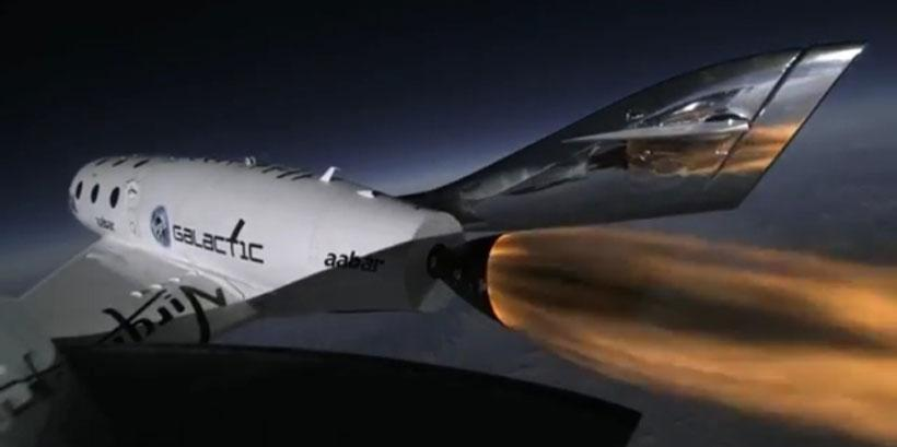 SpaceShip Two completes third flight to test new thrusters