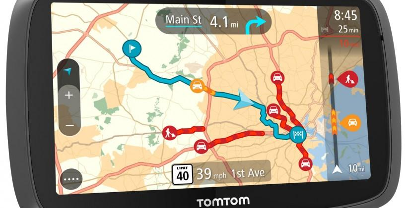 New TomTom Go navigation range launches in the US