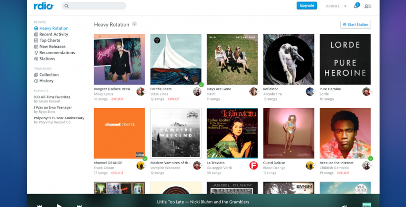 Rdio unshackles service with free Web streaming debut