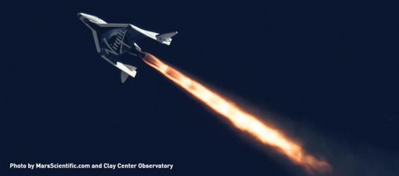 Chinese tourists banned by Virgin Galactic over fears that rocket tech will be stolen