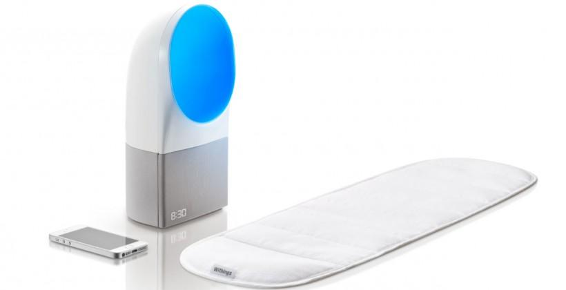 Withings Aura active smart sleep system wakes you to light