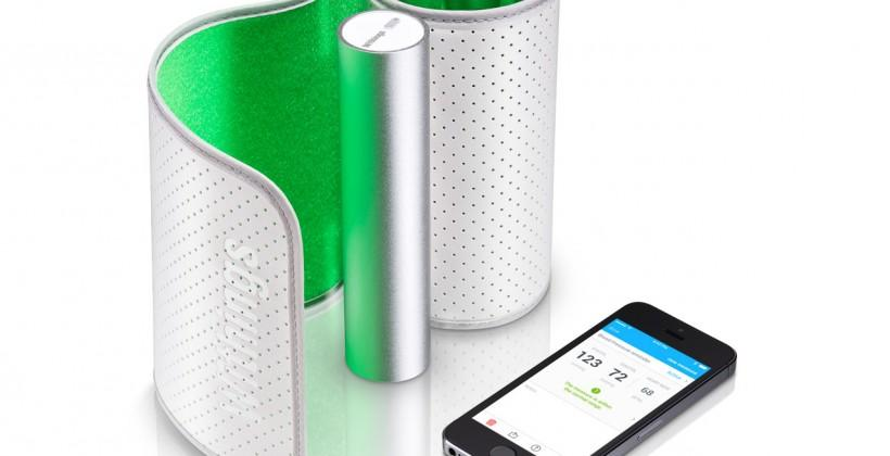 Withings Wireless Blood Pressure Monitor shares data with your smartphone