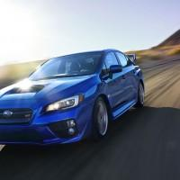 2015 Subaru WRX STI rocks 305hp turbo 2.5L engine