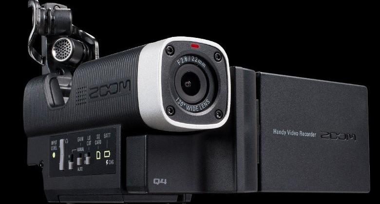 Zoom Q4 camcorder for musicians takes on Sony