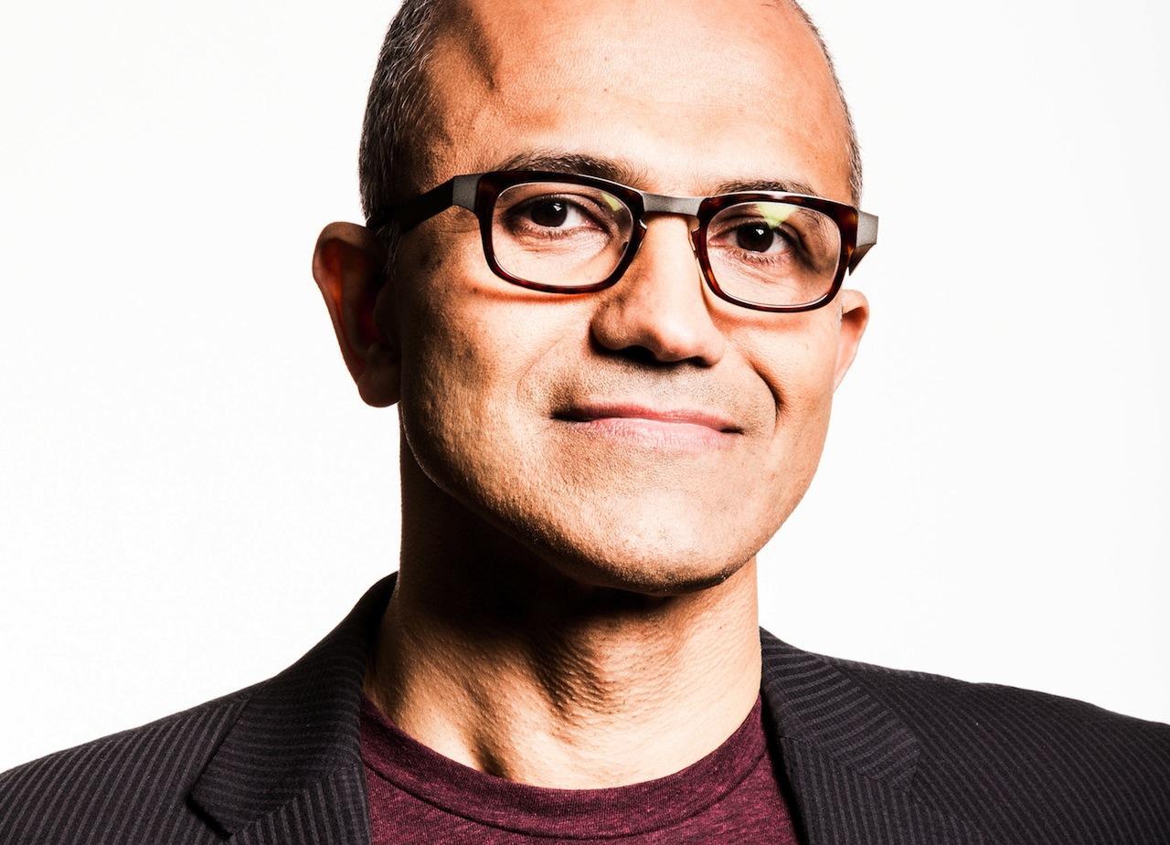 Satya Nadella, Microsoft. 2014-01