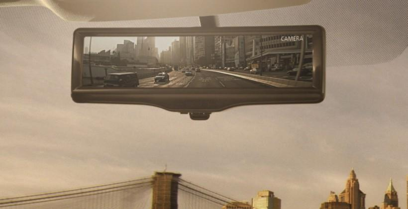 Nissan smart rearview mirror beams live video to your eyeline