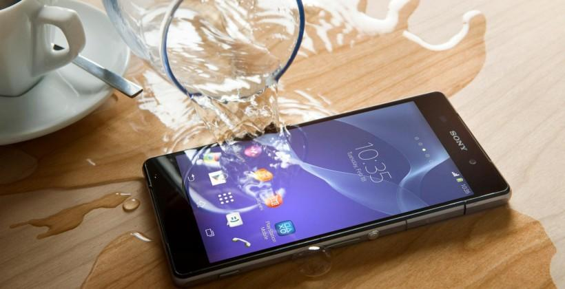Sony Xperia Z2 specifications show 5.2-inch display, 20.7 MP camera, 4K video