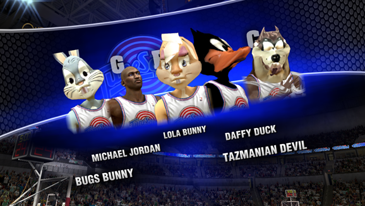 NBA 2K14 Space Jam mod: the missing gameplay video match