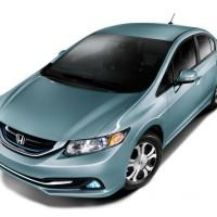2014 Civic Hybrid and Natural Gas get boosted trim and MPG