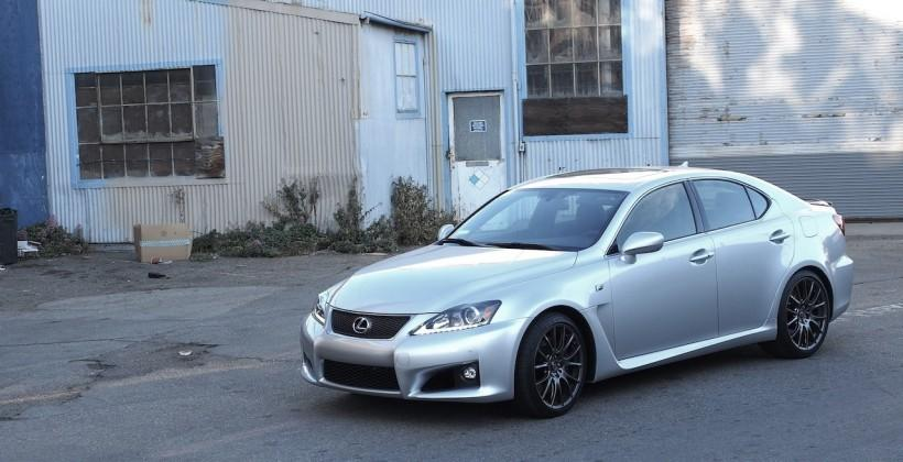 2014 Lexus IS F Review