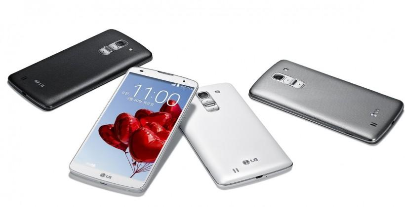 LG G Pro 2 unveiled with 5.9″ display and sound boost