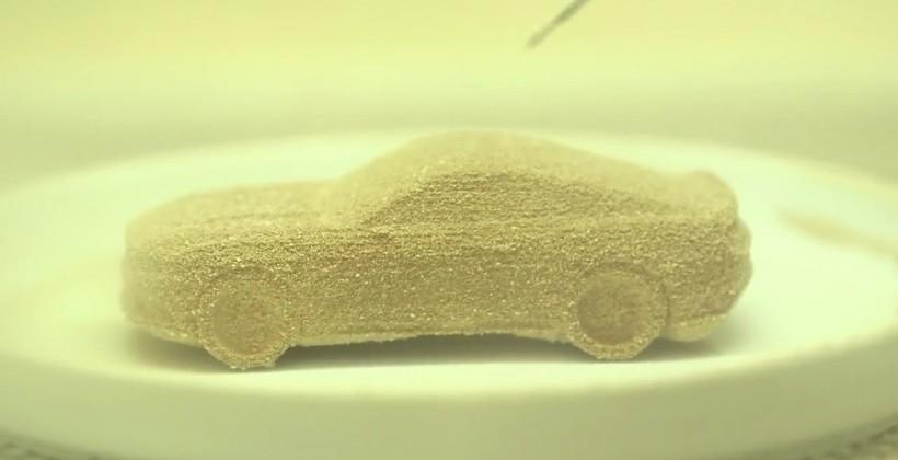 3D Systems prints out a new Ford Mustang that you can eat