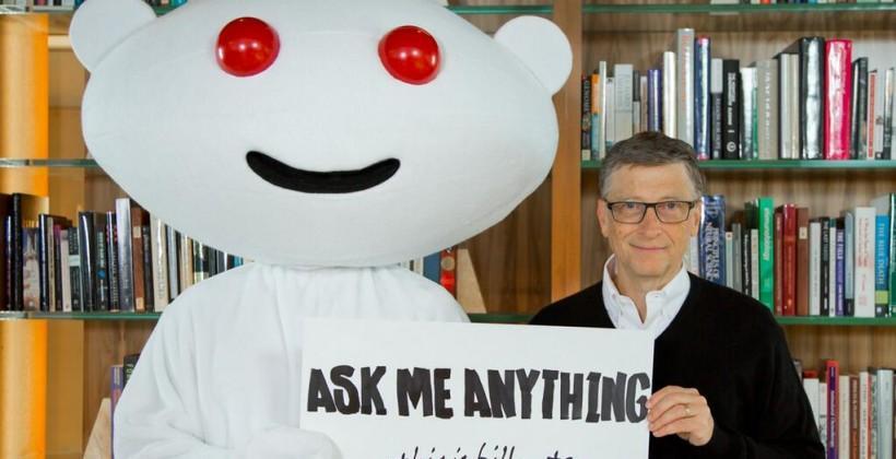 Bill Gates heads back to Reddit for AMA