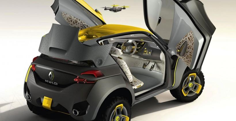 Renault Kwid Concept debuts at Delhi Auto Expo 2014