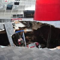 Freak Corvette Museum sinkhole swallows eight classics