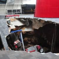 GM promises to oversee restoration on eight Corvettes that fell into a sinkhole