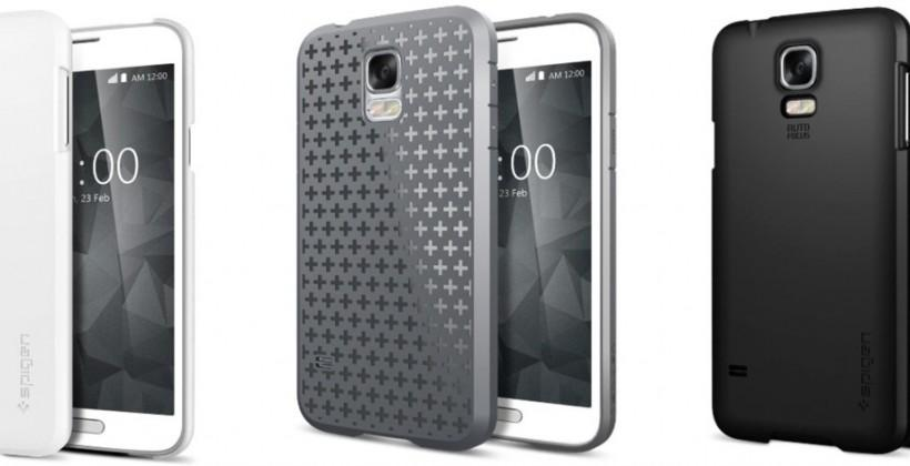Samsung Galaxy S5 case hints at release date and iPhone-style flash