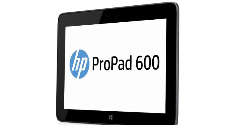 HP ProPad 600 G1 slate brings Windows 8.1 and Atom processor