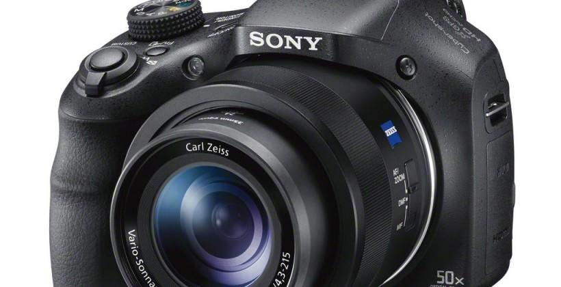 Sony Cyber-shot HX400V, H300, WX350 and W800 refresh camera range