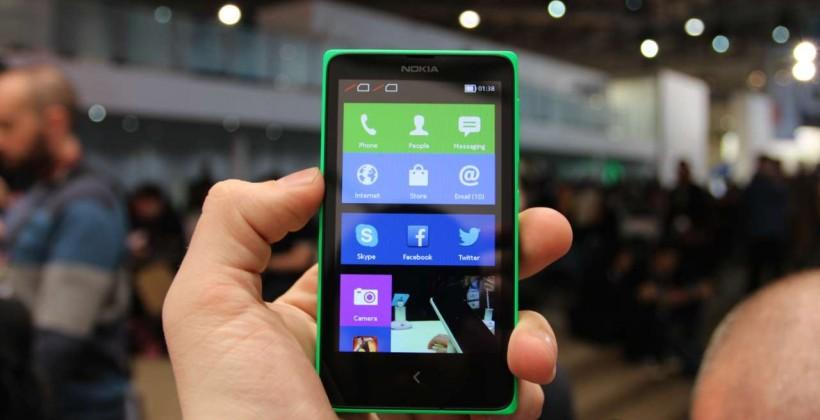 Nokia X hands-on
