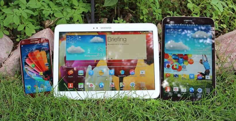 Samsung Galaxy Tab 4 tablets: leaks spill the beans