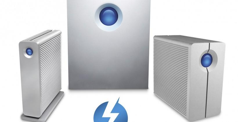 Lacie begins shipping first external 5TB hard drive