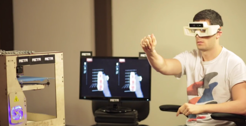 Meta.01 wearable demos 3D printing as dev release nears