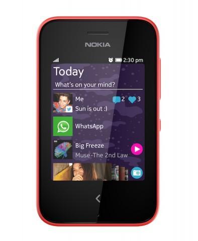 Nokia Asha 230 Red Front Fastlane