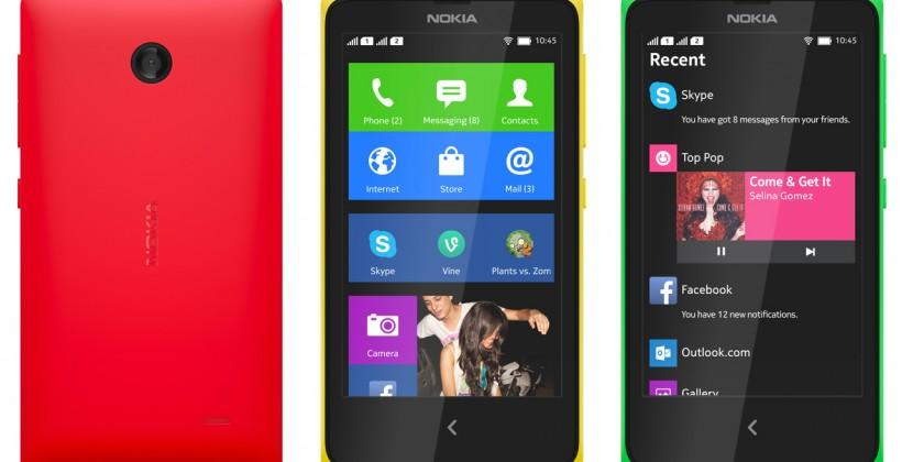 Nokia X official: Android for the sub-Lumia masses
