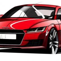 Audi TT 3rd-gen teased with retro details