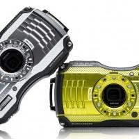 Ricoh WG-4 and WG-4 GPS outdoor digital cameras are waterproof and rugged