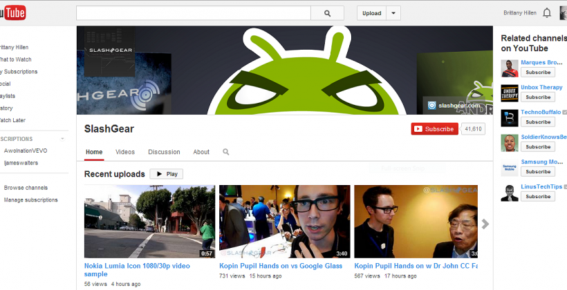 YouTube ushers in new design