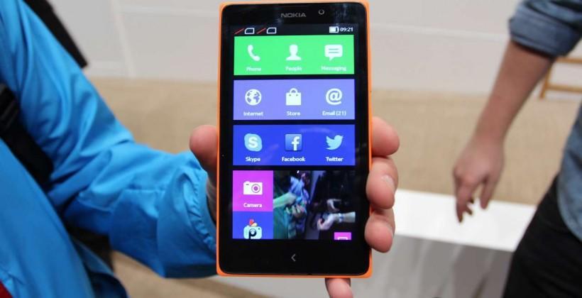 Nokia XL hands-on