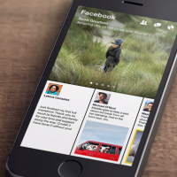 Paper Stories from Facebook app launches for iOS