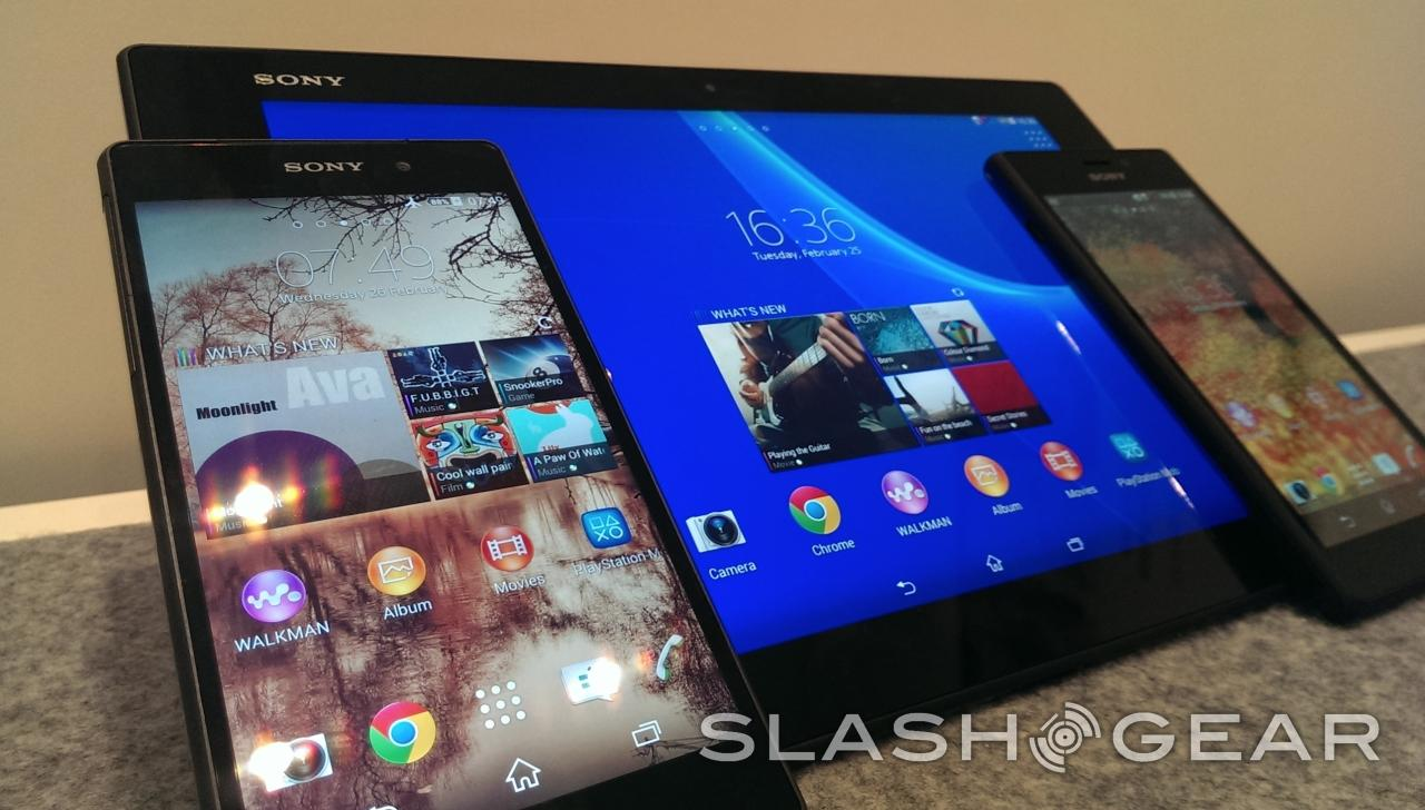 Here's Sony's Xperia 2014 in smartphones and tablets - SlashGear