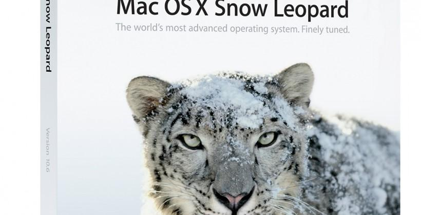Apple said putting OS X Snow Leopard out in the cold
