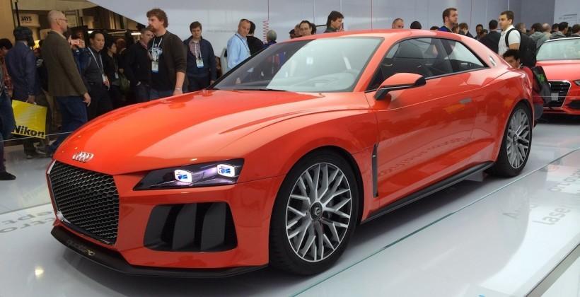 Audi Sport Quattro concept production likely plus R8 e-tron reprieve