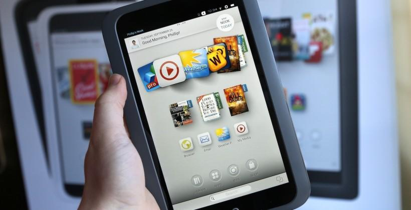 NOOK tablet refresh this year as B&N outsources