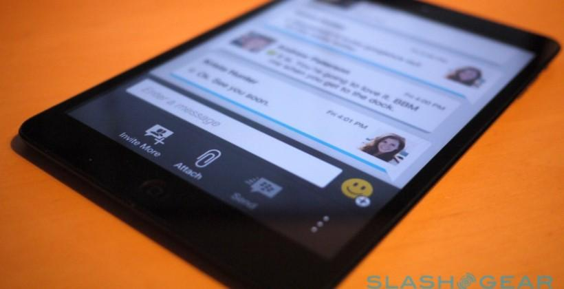 """BBM """"Find Friends"""" feature added for iOS and Android"""