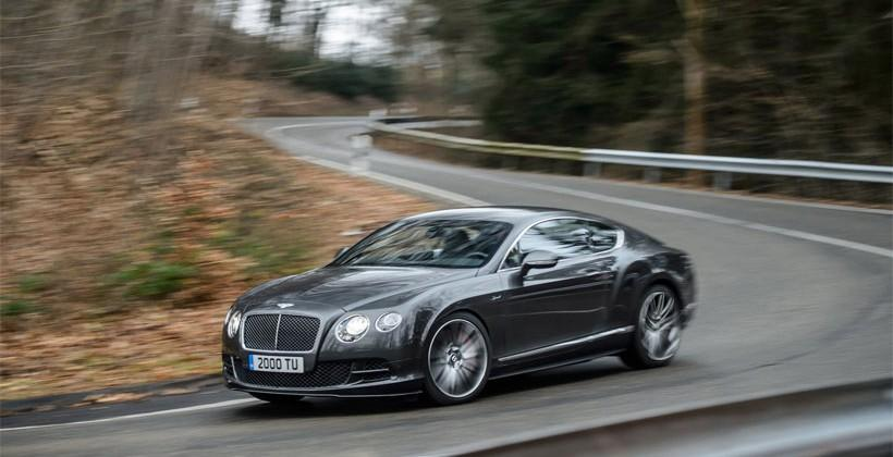 Bentley Continental GT and Flying Spur updates add power and luxury