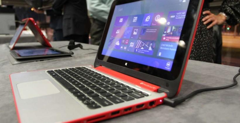 HP Pavilion x360 hands-on: Beats Audio gets flippable