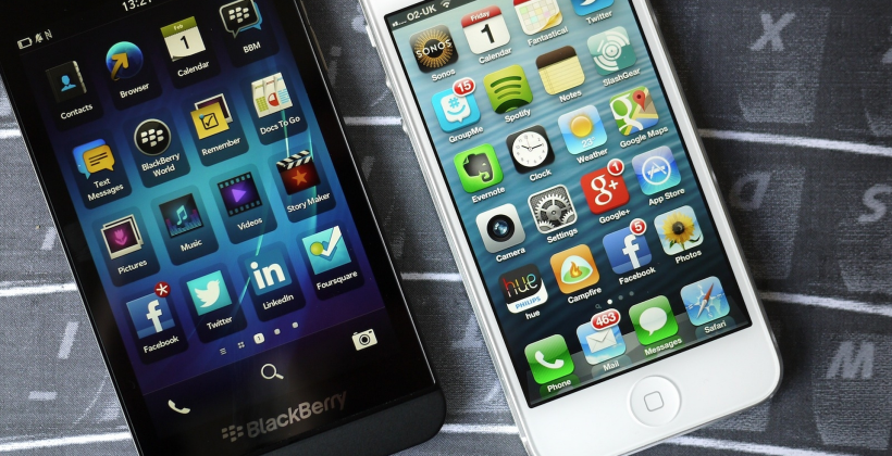 T-Mobile iPhone ad targets BlackBerry owners: