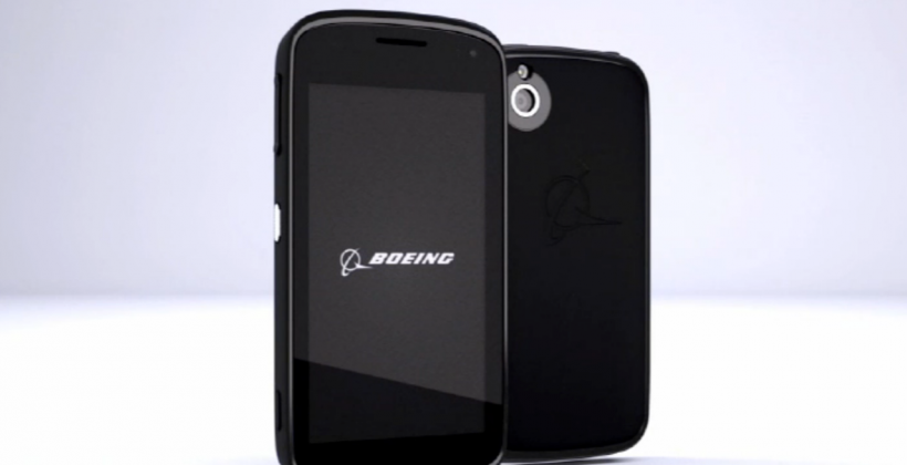 Boeing Black secure smartphone detailed for maximum privacy